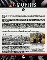 Peter Morris Prayer Letter: A Busy Year
