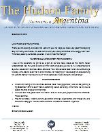Simeon Hudson Prayer Letter:  He Prepares the Hearts