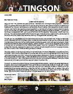 Garry Tingson Prayer Letter: A 2020 Vision for Australia