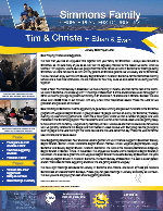 Tim Simmons Prayer Letter:  What a Year!