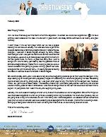 Caleb Christiansen Prayer Letter: Special Blessing