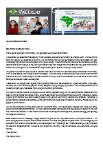 Juan Vallejo Prayer Letter: Thanking the Lord for His Goodness to Us All