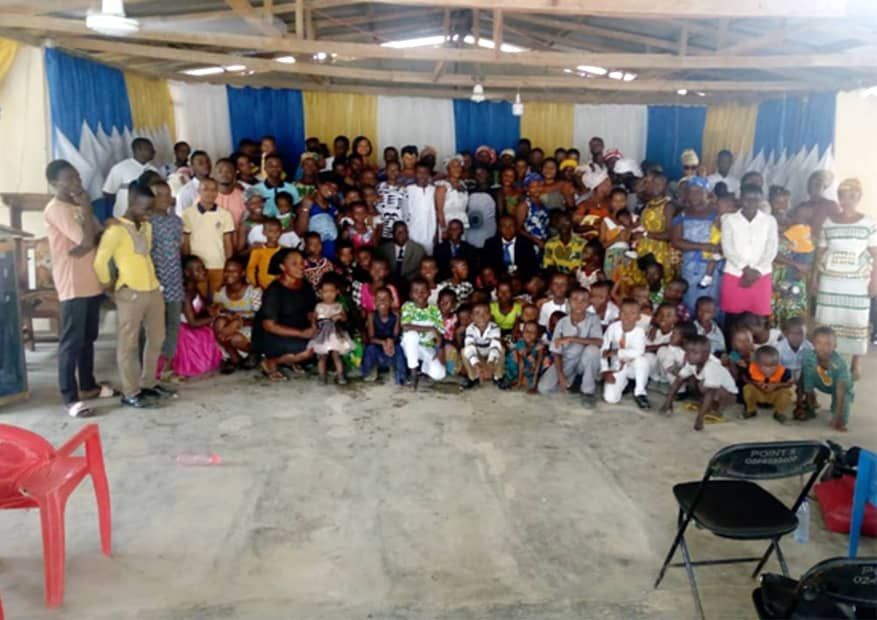 Bible Baptist Church congregation