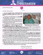Scott Christiansen Prayer Letter: 20/20 Vision