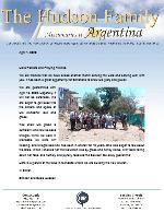 Simeon Hudson Prayer Letter: Building a Church Building in Mendoza