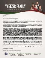 Christopher Yetzer Prayer Letter: Ministering Online in Italy