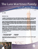 Luis Martinez Prayer Letter: Exciting Times--Looking for Other Ways to Share the Gospel!