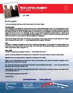 Ricardo Leyva Prayer Letter: But My God Shall Supply All Your Need