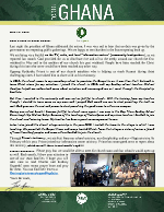 Team Ghana Update: Testimony From a Young Man Reached by Our School Ministry