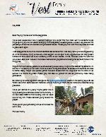 Charlie Vest Prayer Letter: Souls Being Saved Weekly