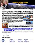 James Belisle Prayer Letter: New Opportunities