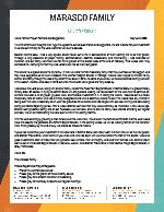 Sam Marasco Prayer Letter: Bitter-Sweet Update