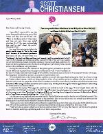 Scott Christiansen Prayer Letter: Lockdown Update