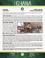 Team Ghana National Pastor Spotlight: Distributing Rice and the Bread of Life