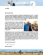 Caleb Christiansen Prayer Letter: On the Road Again