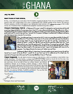Team Ghana Update: Testimony From Prince, Part 2