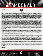 Corey McDonald Prayer Letter: Calvary Baptist Church of Kiambu County
