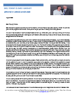 Tommy Ashcraft Prayer Letter: God Has Been So Good to Us