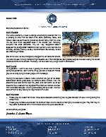 Jonathan Bryan Prayer Letter: The Same Yesterday, Today, and Forever