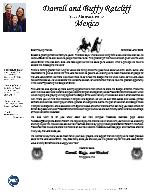 Darrell Ratcliff Prayer Letter: Christmas Letter 2020