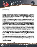 Mshama Kinyonga Prayer Letter: 6-Year Church Anniversary