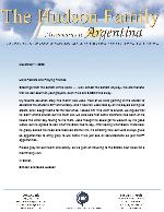 Simeon Hudson Prayer Letter: Eternal Life and Ice Cream