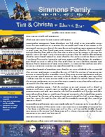 Tim Simmons Prayer Letter: Encouraging Responses From Churches!