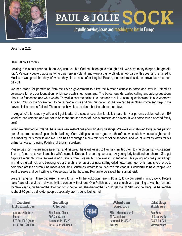 thumbnail of Paul Sock December 2020 Prayer Letter – 2