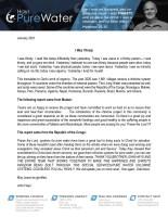 John Hays Prayer Letter: I Was Thirsty