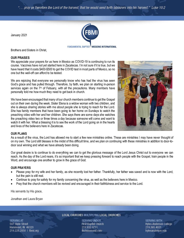 thumbnail of Jonathan Bryan January 2021 Prayer Letter – Revised