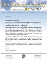 Simeon Hudson Prayer Letter: It Was a Great Year!