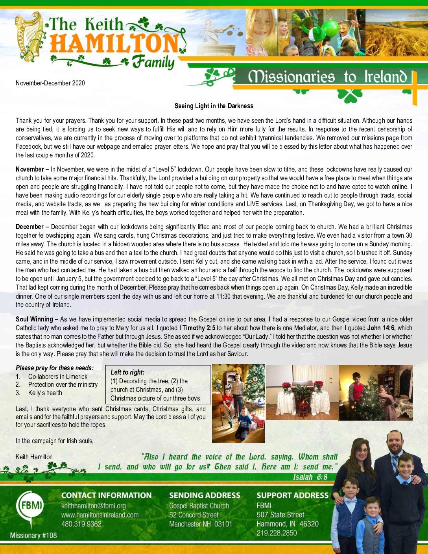 thumbnail of Keith Hamilton Nov-Dec 2020 Prayer Letter – Final