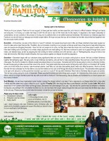 Keith Hamilton Prayer Letter: Seeing Light in the Darkness