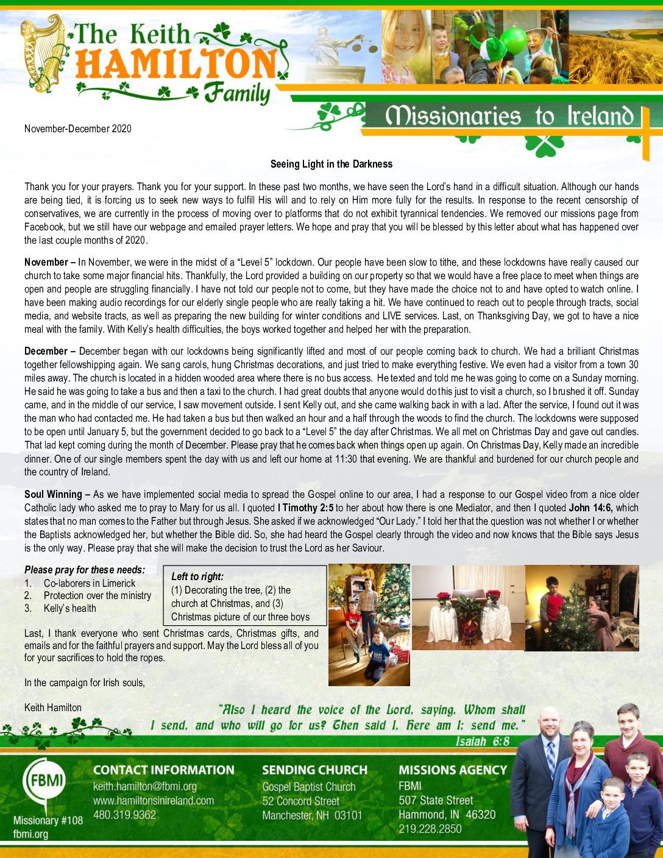 thumbnail of Keith Hamilton Nov-Dec 2020 Prayer Letter – Updated