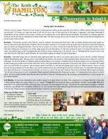 Keith and Kelly Hamilton Prayer Letter: Seeing Light in the Darkness