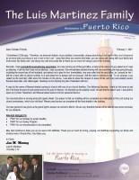 Luis Martinez Prayer Letter: A Wonderful Soul-Winning Experience