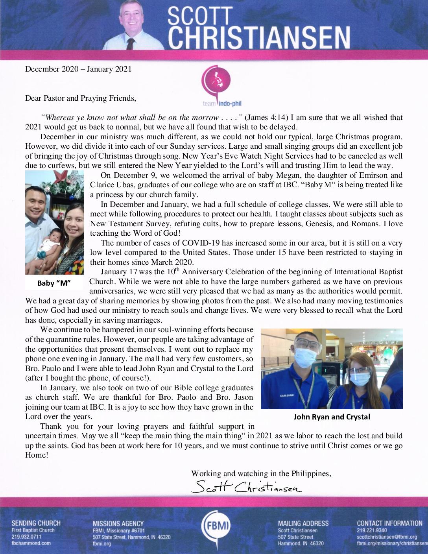 thumbnail of Scott Christiansen Dec 2020 – Jan 2021 Prayer Letter
