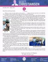 Scott Christiansen Prayer Letter: IBC's 10th Anniversary