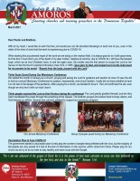 Andres Amoros Prayer Letter: Missionary Conference