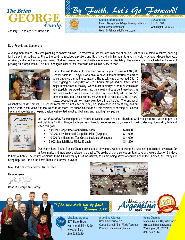 thumbnail of Brian George Jan-Feb 2021 Prayer Letter – Revised