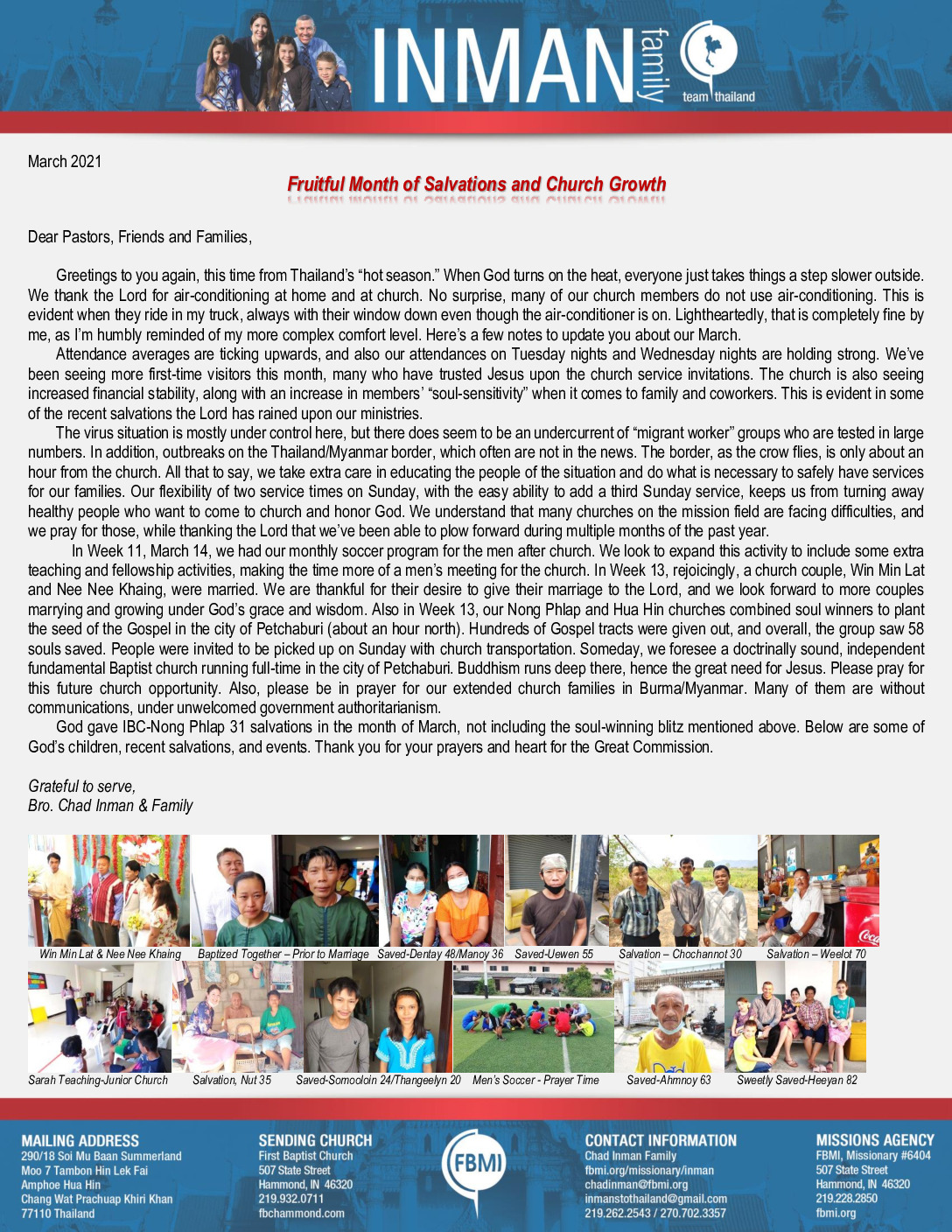thumbnail of Chad Inman March 2021 Prayer Letter