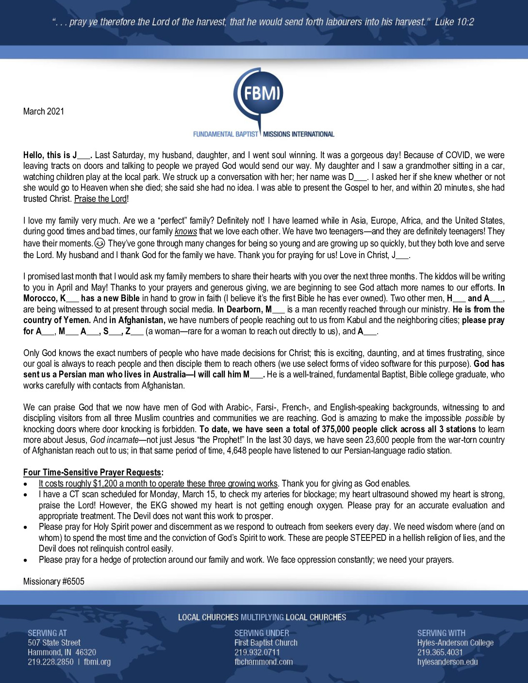 thumbnail of M6505 March 2021 Newsletter