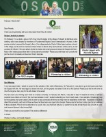 Charles Osgood Prayer Letter: Reaching Souls From the Village to the University