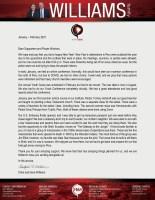 Chris Williams Prayer Letter:  A Missions Trip to Ecuador