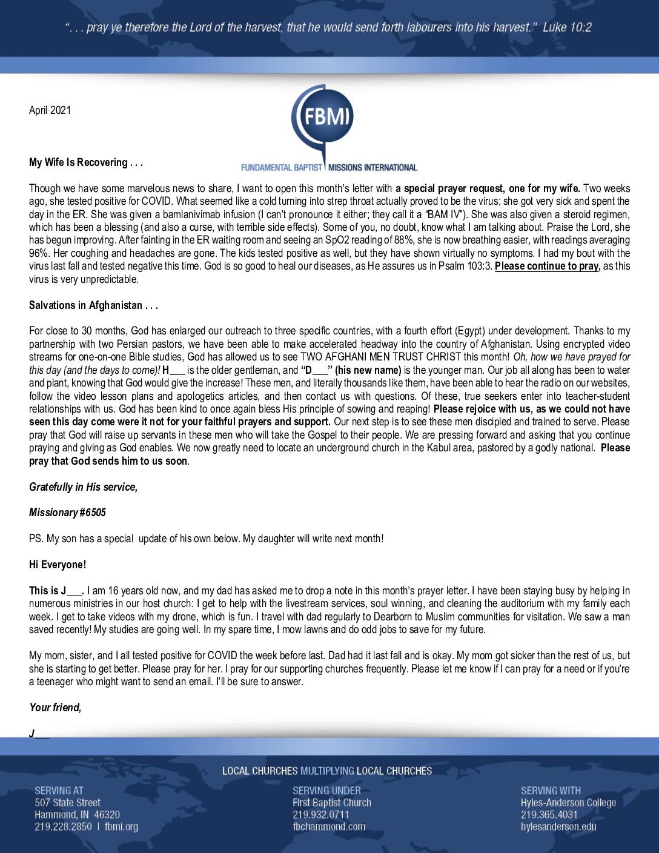thumbnail of M6505 April 2021 Newsletter