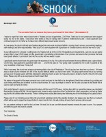 Tim Shook Prayer Letter: Rejoicing in the Growth of New Converts