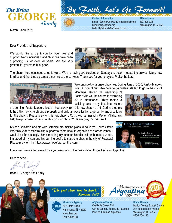 thumbnail of Brian George Mar-Apr 2021 Prayer Letter
