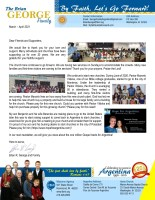 Brian and Liesl George Prayer Letter: Continuing to Plant Churches