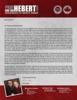 Brian and Liz Hebert Prayer Letter: Investing in Eternity