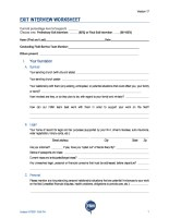 thumbnail of Exit Interview Worksheet-Interactive